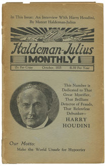 Haldeman-Julius Monthly: An Interview with Harry Houdini