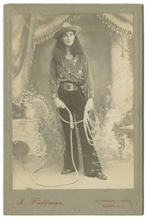 Wyoming Jack Cabinet Card