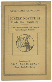 Jokers' Novelties: Magic -- Puzzles