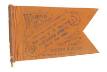 Waring the Magician Tissue Flag
