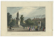 Russell Square, and Statue of the Duke of Bedford