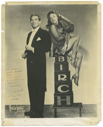 Birch Publicity Photograph, Signed