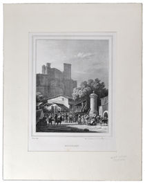 Beaucaire Market Engraving