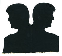 Dai Vernon Cut Silhouette of Billy McComb