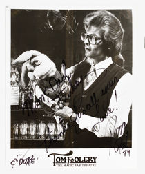 Tom Mullica Photograph, Signed and Inscribed