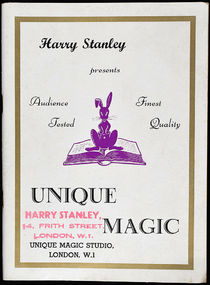 Harry Stanley Presents Unique Magic