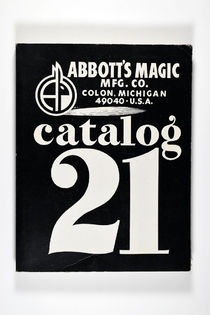 Abbott's Magic Manufacturing Catalog 21