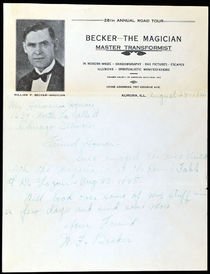 Becker the Magician ALS