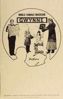 World Famous Magician Gwynne Poster