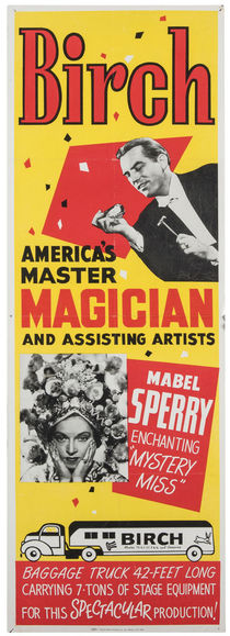 Birch and Mabel Sperry Poster