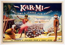 Kar-Mi Swallows a Loaded Gun Barrel