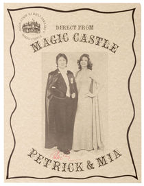 Direct from Magic Castle: Petrick and Mia, Signed