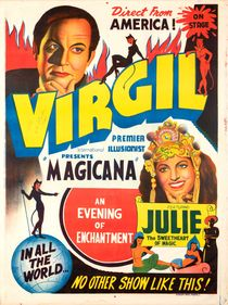 Virgil: Premier Illusionist, Signed