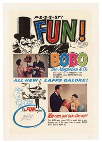 P-S-S-S-ST Fun! Bobo the Magician and Co., Signed