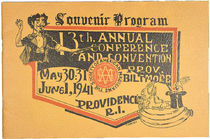 Society of American Magicians Souvenir Program