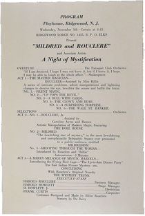 Mildred and Rouclere: A Night of Mystification