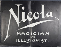 Nicola: Magician and Illusionist