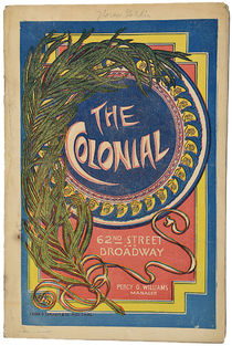 Colonial Theatre Program