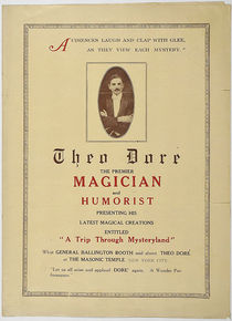Theo Dore, The Premier Magician and Humorist