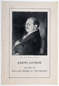 Joseph Jastrow: Lectures on Popular Phases of Psychology