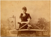 Madame Reno Card Photograph