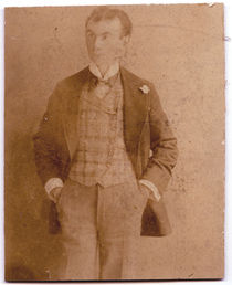 Unidentified Magician Card Photograph