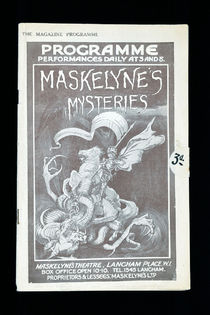 Maskelyne's Mysteries Program