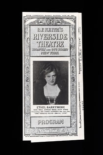 Van Hoven at Riverside Theatre Program