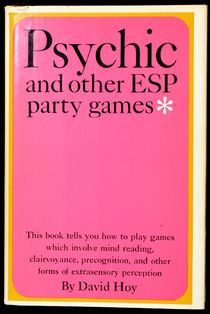 Psychic and Other ESP Party Games, Signed