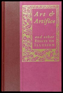 Art and Artifice and Other Essays on Illusion