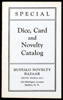Dice, Card and Novelty Catalog