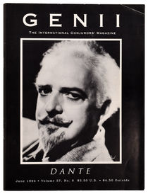 Genii: The International Conjurors' Magazine, Dante