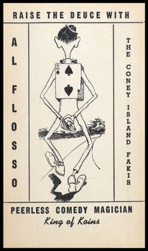 "Al Flosso ""King of Koins"" Postcard"