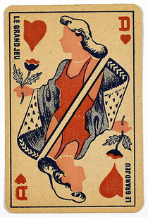 Le Grand Jeu Throw-Out Card