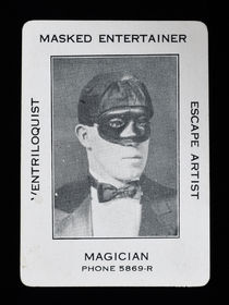 Masked Entertainer, Magician