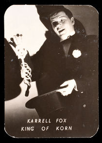 Karrell Fox Card Signed by Augustus Rapp