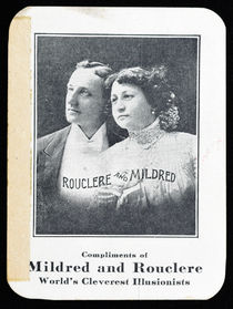 Rouclere and Mildred Throw-Out Card