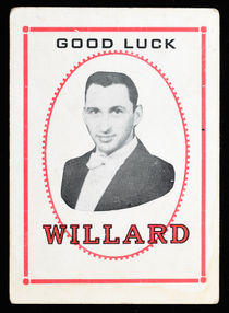 Willard, Good Luck Throw-Out Card