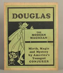 Douglas the Modern Magician Window Card