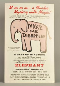 Make Me Disappear Murder Mystery Window Card