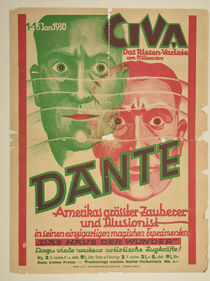 German Dante Window Card